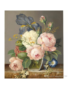 Custom 3 D Luxury Wallpaper Elegant Flowers Photo Wallpaper Silk Wall Murals Home Decor Large Wall Art Kid Room Bedroom Sofa Tv Back by D Hgate.Com