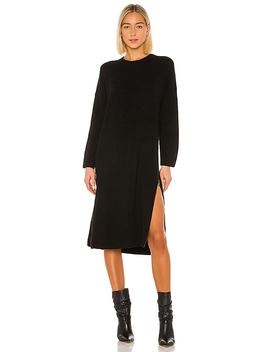 Zip Knit Dress In Black by One Teaspoon