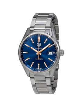 Carrera Quartz 39 Mm Blue Dial Ladies Watch by Tag Heuer