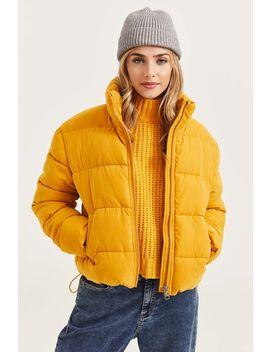 Mock Neck Puffer Jacket by Ardene