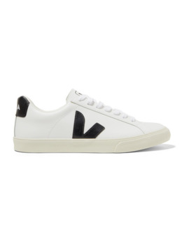 + Net Sustain Esplar Rubber Trimmed Leather Sneakers by Veja