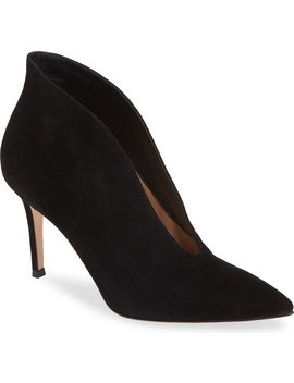 Pointy Toe Bootie by Gianvito Rossi