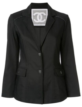 Chanel Cc Sports Line Long Sleeve Jacket by Chanel Pre Owned