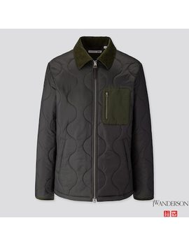 Men Quilted Blouson (Jw Anderson) by Uniqlo