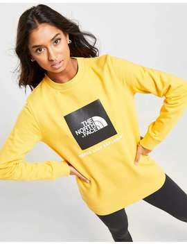 The North Face Box Logo Crew Sweatshirt by Jd Sports