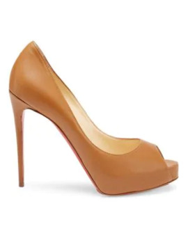 New Very Privé 120 Leather Peep Toe Pumps by Christian Louboutin