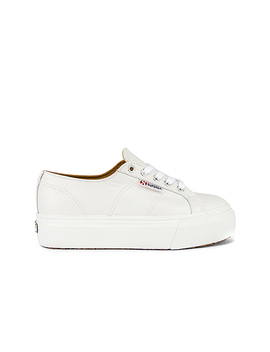 2790 Fglw Sneaker In White by Superga
