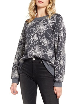 Black Widow Sommers Sweatshirt by Wildfox
