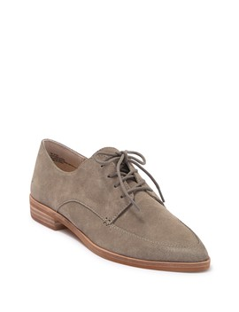 Kyza Suede Apron Toe Derby by Dolce Vita