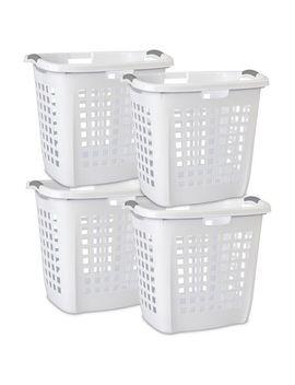Sterilite 70.5 L Ultra White Easy Carry Hamper by Walmart