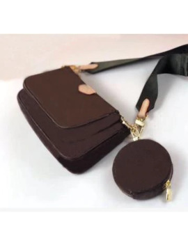 Vogue Handbags High Fashion Crossbody Bags For Women 2019 Designer 3 Piece Set Accessories Real Leather Free Shipping by Ali Express.Com