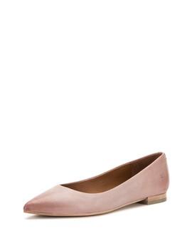 Sienna Pointy Toe Ballet Flat (Women) by Frye
