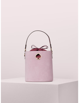 Suzy Suede Small Bucket Bag by Kate Spade