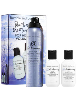 The More, The Merrier: Thickening Volume Set by Bumble And Bumble