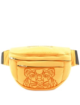 Kenzo Tiger Embroidered Nylon Cross Body Bag by Kenzo