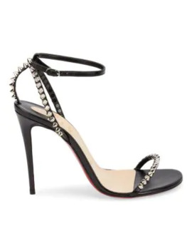 So Me Studded Leather Sandals by Christian Louboutin