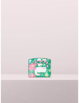 Sylvia Garden Posy Cardholder by Kate Spade