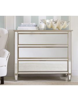 Park Mirrored Dresser, Champagne Finish by Pottery Barn