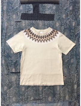Vintage Number Nine Native Pattern T Shirt by Number (N)Ine  ×