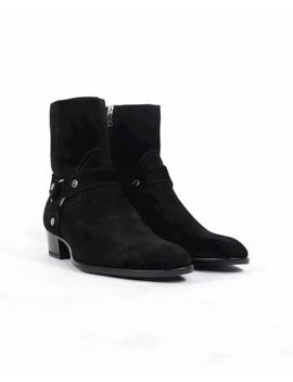 *New* Saint Laurent Wyatt Harness Black 44 by Saint Laurent Paris  ×