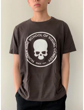 Number Nine School Of Visual Comedy Grey/Brown Shirt by Number (N)Ine  ×