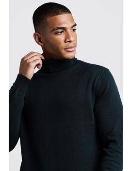 Long Sleeve Roll Neck Jumper by Boohoo