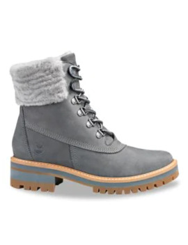 Courmayeur Valley Waterproof Shearling Lined Suede Hiking Boots by Timberland