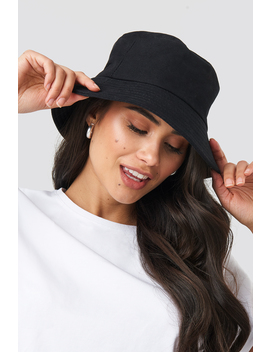Basic Bucket Hat Black by Na Kd Accessories