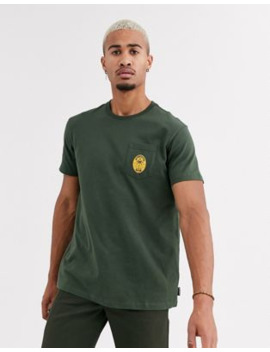Billabong Trifecta T Shirt In Khaki by Billabong