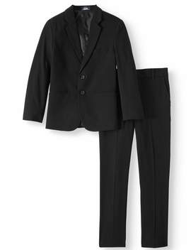 Arrow Aroflex Stretch Herringbone Suit (Little Boys & Big Boys) by Arrow