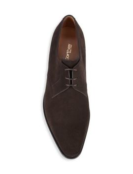 Sergio Suede Derby Shoes by Corthay