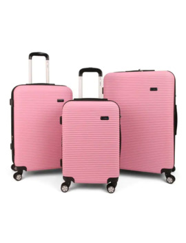 "Tanka Engine Hardside Expandable 3 Piece Luggage Spinner Set   20"", 24"", And 28"" by Generic"