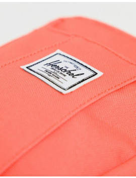 Herschel Supply Co Exclusive Cruz Neon Coral Festival Cross Body Bag by Herschel Supply Co
