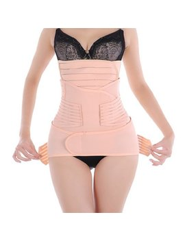 Postpartum Strip Abdomen Belt Belly And Waist And Pelvis Maternity Body Support Band 3 In 1   Size S by Mosos