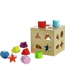 Chad Valley Play Smart Wooden Shape Sorter248/9533 by Argos
