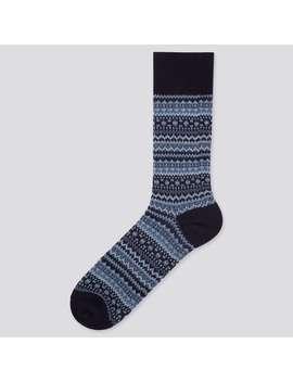 Heattech Fair Isle Socks by Uniqlo