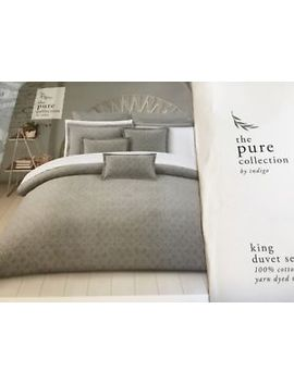 King Duvet Set By Indigo 100% Cotton by King