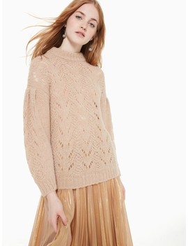 Pointelle Stitch Sweater by Kate Spade