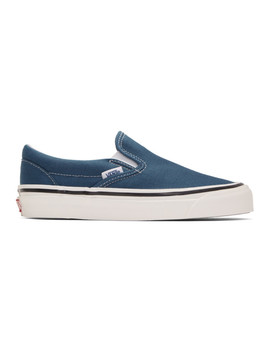Blue Classic Slip On 98 Dx Anaheim Factory Sneakers by Vans