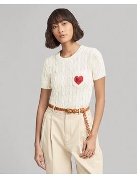Rl Heart Short Sleeve Jumper by Ralph Lauren