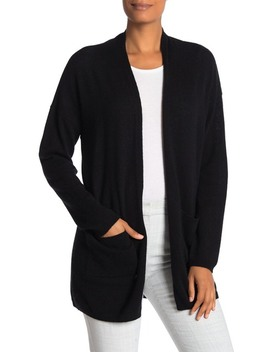 Open Front Cashmere Cardigan by M Magaschoni