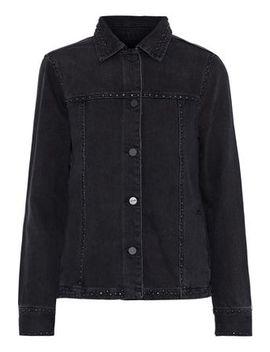 Studded Denim Jacket by Frame