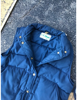Vintage Ll Bean Puffy Vest Made In Usa by Vintage  ×  L.L. Bean  ×  Made In Usa  ×