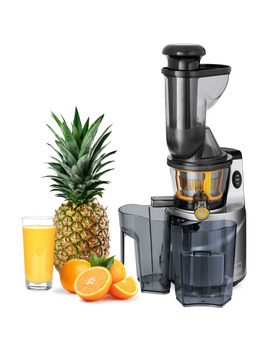 Best Choice Products 150 W 60 Rpm Whole Food Slow Masticating Cold Press Juicer Extractor For Fruits, Vegetables W/ 3in Wide Feeder Chute, Juice/Pulp Jug, Drip Free Cap, Safety Locking, Cleaning Brush by Best Choice Products