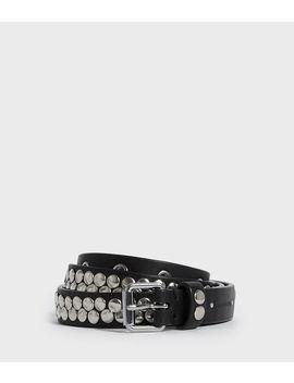 Francoise Leather Belt by Allsaints