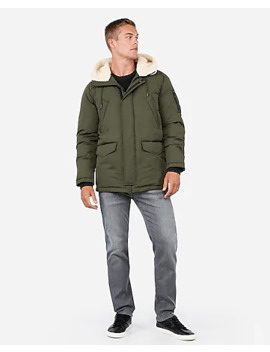 Sherpa Lined Water Resistant Parka by Express