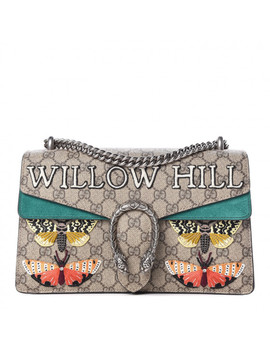 Gucci Gg Supreme Monogram Willow Hill Embroidered Small Dionysus Shoulder Bag by Gucci