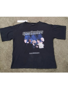 Balenciaga Speed Hunters Tour Short Sleeve T Shirt by Balenciaga  ×  Band Tees  ×  T Shirt  ×
