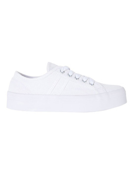Sandler Scott White Canvas Sneaker by Sandler