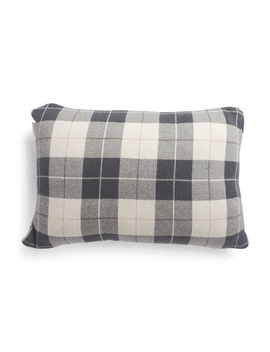 Made In India 16x24 Buffalo Check Pillow by Tj Maxx